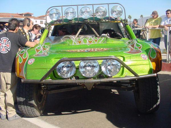 Jesse James Trophy Truck Monster Garage Edition Socal