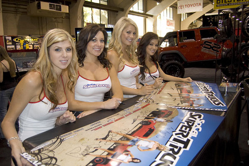 Hot Girls Off Road