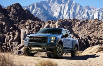 2017 Ford Raptor Posing for a Shot