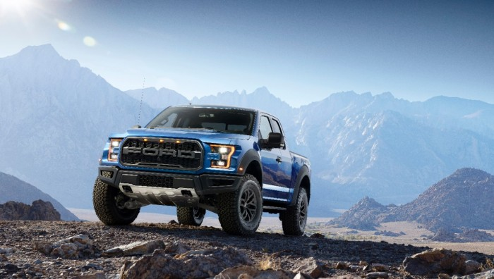 2017 Ford Raptor Model Shot
