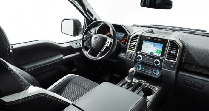 2017 Ford Raptor Drivers Cockpit