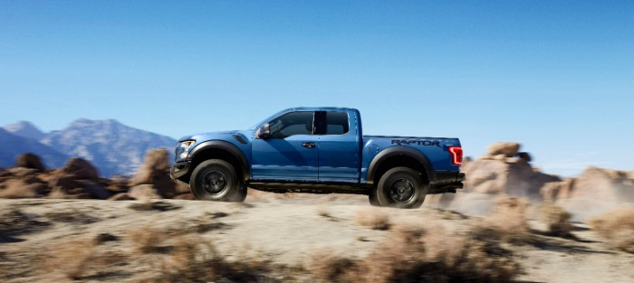 2017 Ford Raptor Side Profile