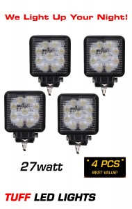 4 pack off road led lights