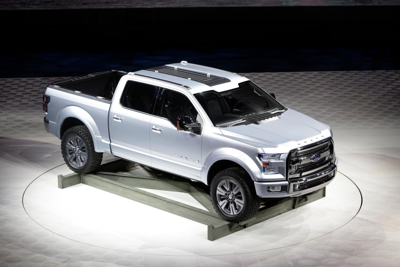 ford atlas concept f 150 is the future of ford motor co. Black Bedroom Furniture Sets. Home Design Ideas