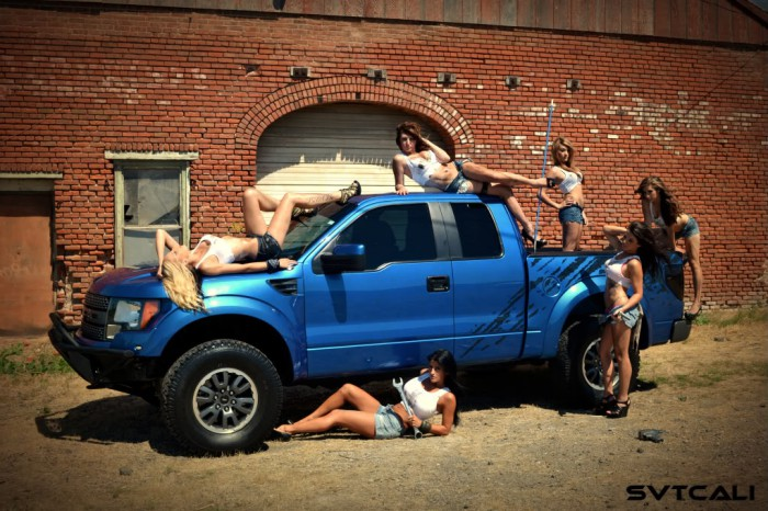 Ford Raptor Hot Girls Babes X