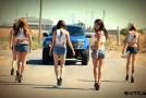 Hot Girls with Ford SVT Raptor