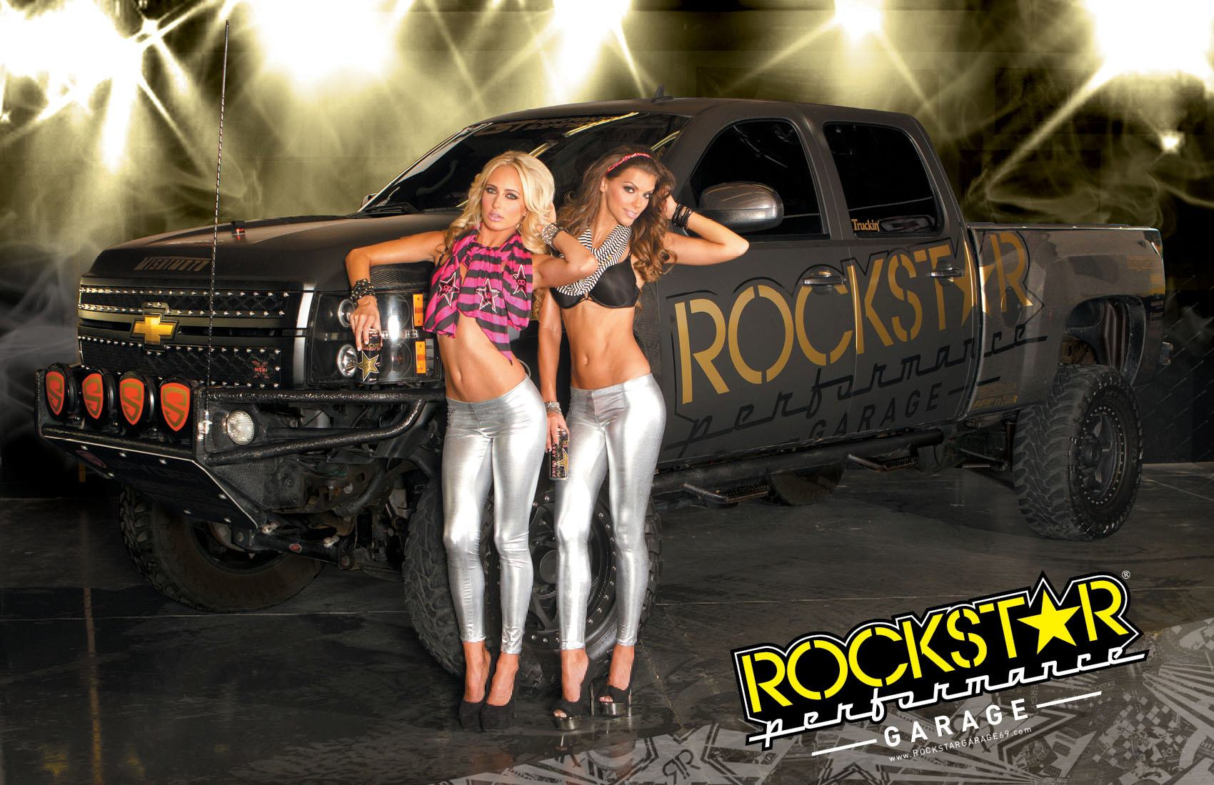 Girls at Rockstar Garage Photoshoot - Socal Prerunner ...
