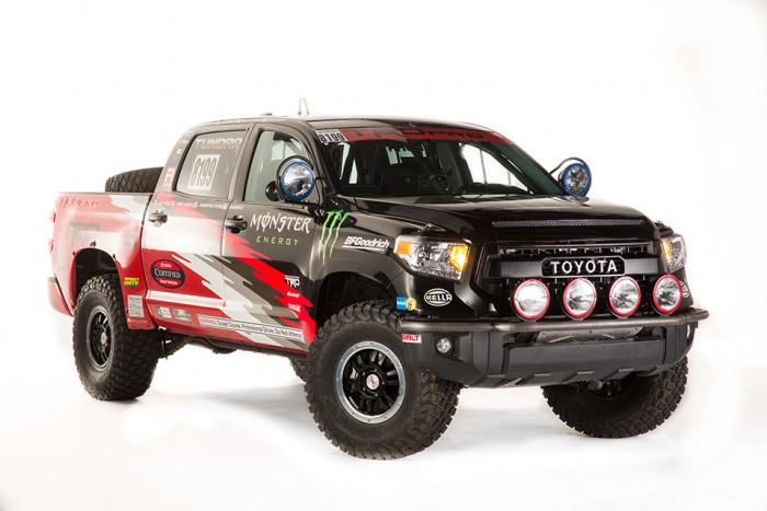 2015 Tundra TRD Pro Baja 1000 Front Angle