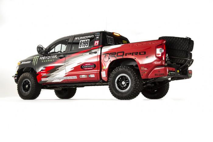 2015 Tundra TRD Pro Baja 1000 Side Profile