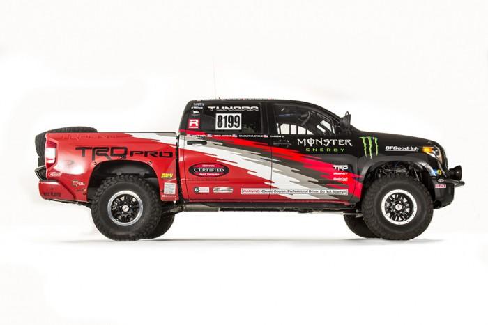 2015 Tundra TRD Pro Baja 1000 Straight Side