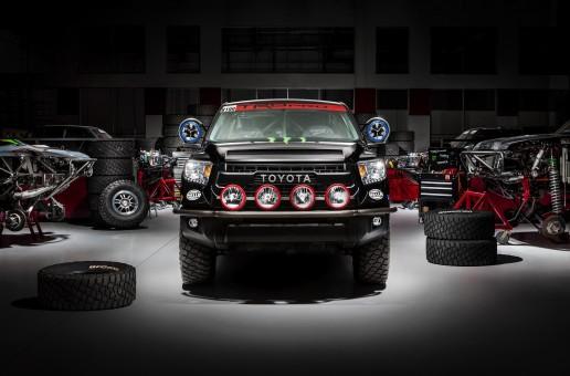 TRD Pro Desert Race Truck Toyota Tundra 2015