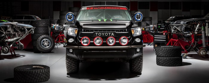 2015 Tundra TRD Pro Baja 1000 Garage Shop Picture