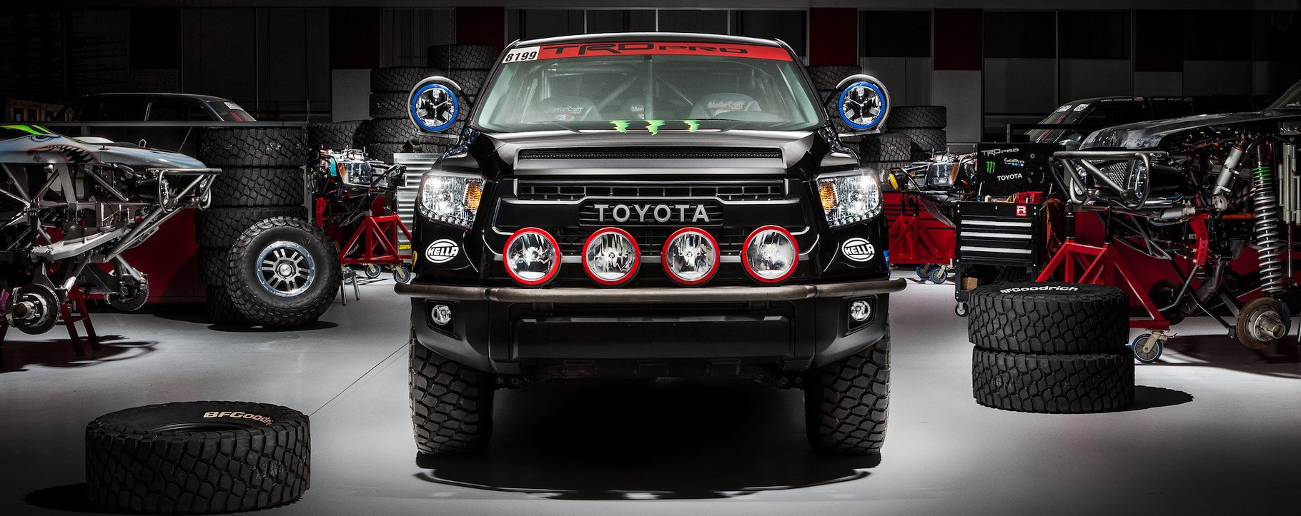 TRD Pro Desert Race Truck Toyota Tundra 2015 - Socal ...