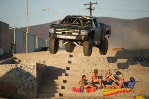 truck jumping